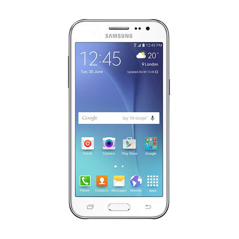 Samsung Galaxy J2 Smartphone - Putih [8GB/ 1GB]