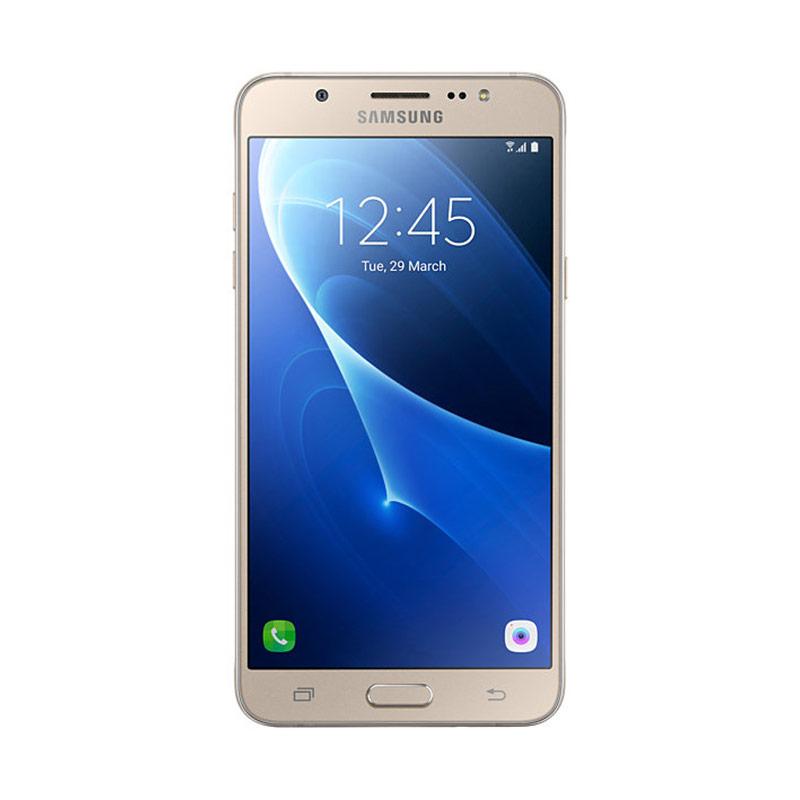 Samsung Galaxy J7 2016 Smartphone - Gold - 9282951 , 15440048 , 337_15440048 , 3075000 , Samsung-Galaxy-J7-2016-Smartphone-Gold-337_15440048 , blibli.com , Samsung Galaxy J7 2016 Smartphone - Gold