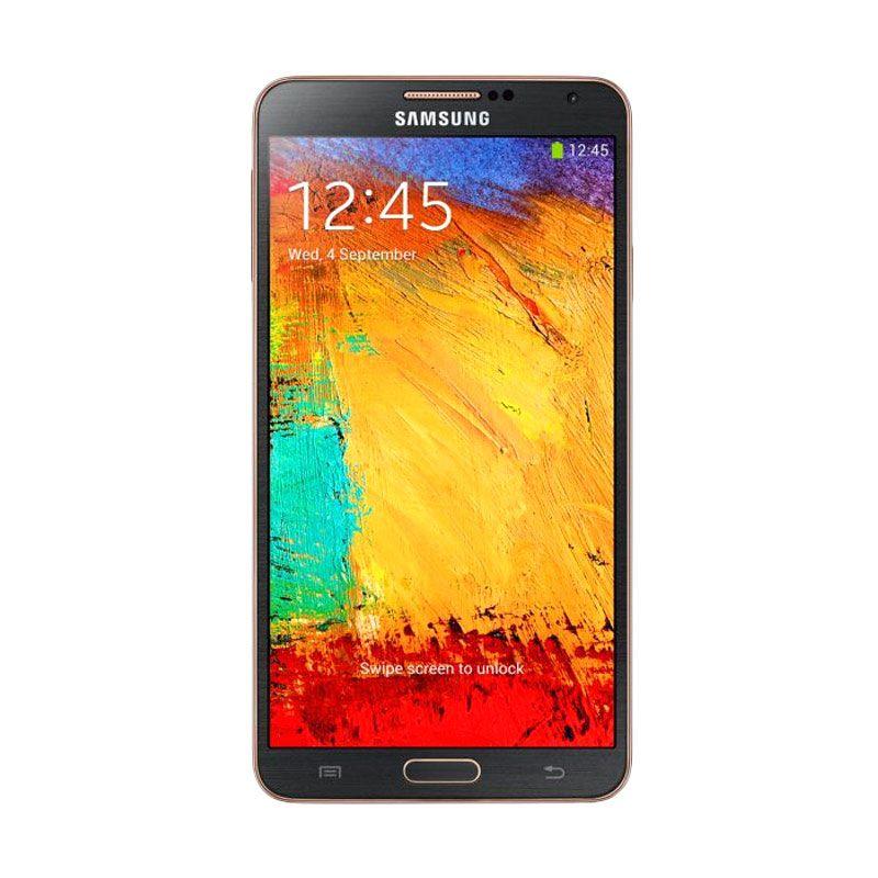 Samsung Galaxy Note 3 N9000 Smartphone - Rose Gold Black [32GB/ 3GB]
