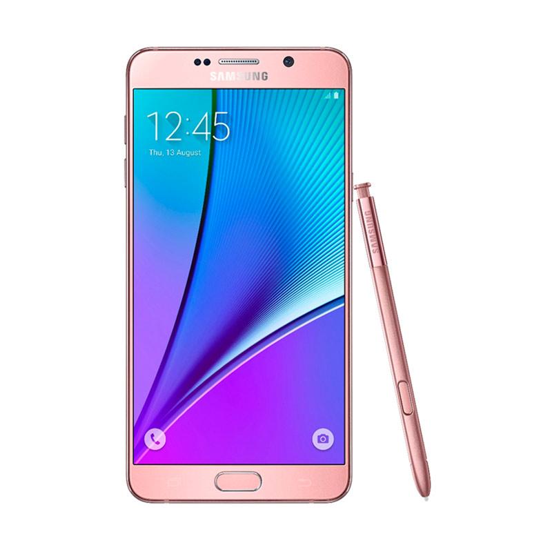 Redeem - Samsung Galaxy Note 5 Smartphone - Pink Gold [Kompensasi Note 7]