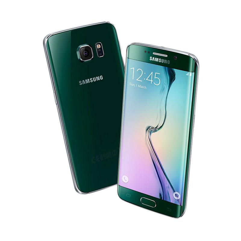 Samsung Galaxy S6 Edge Green Smartphone [128 GB]