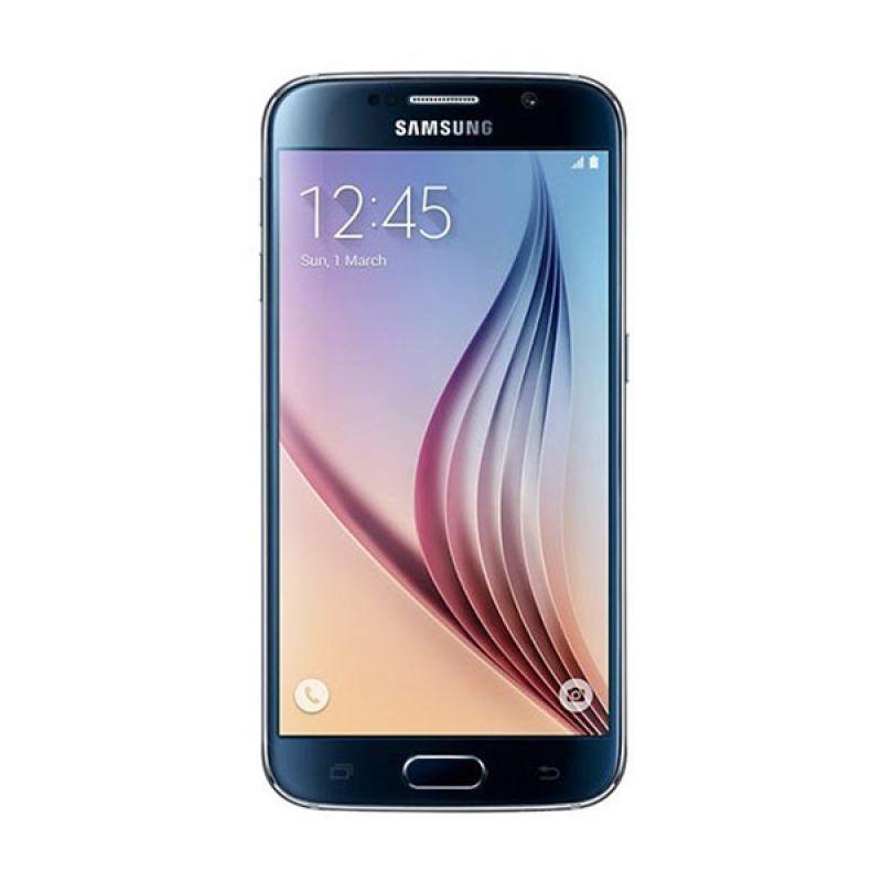 Samsung Galaxy S6 Flat Hitam Smartphone