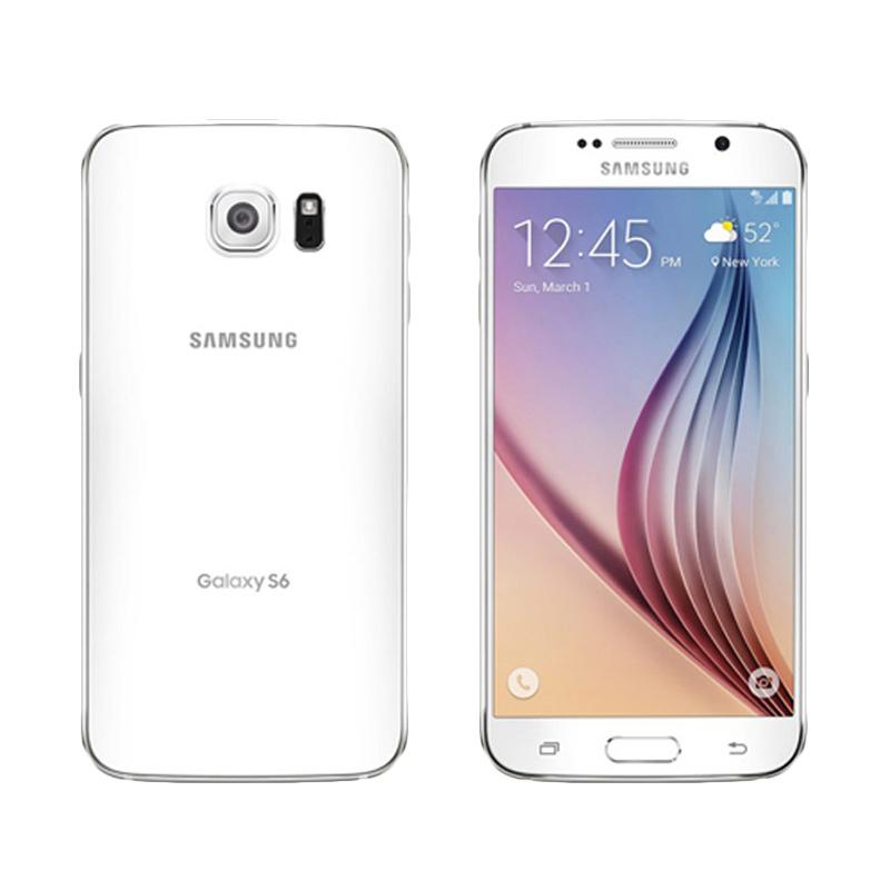 Samsung Galaxy S6 Flat Smartphone - White [32 GB/3 GB]