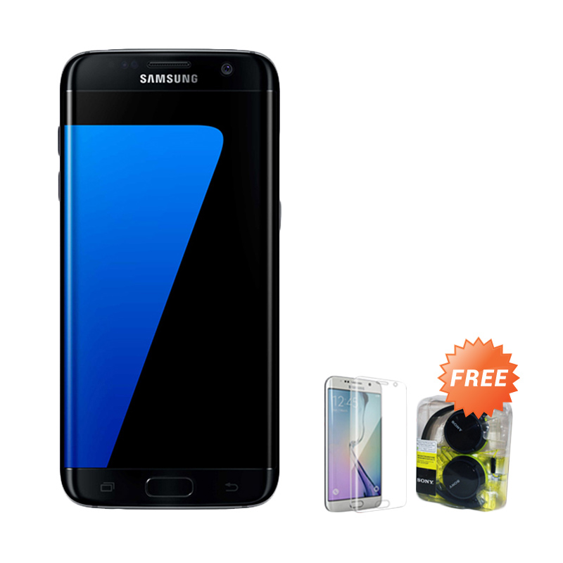 Samsung Galaxy S7 Edge Smartphone + Free Anti Gores + Headset Sony MDR ZX310AP