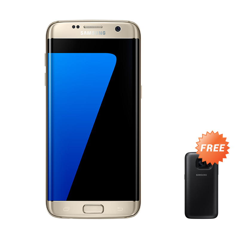 Samsung Galaxy S7 Edge SM-G935 - Gold SEIN + Free Samsung Galaxy S7 Original Accessories