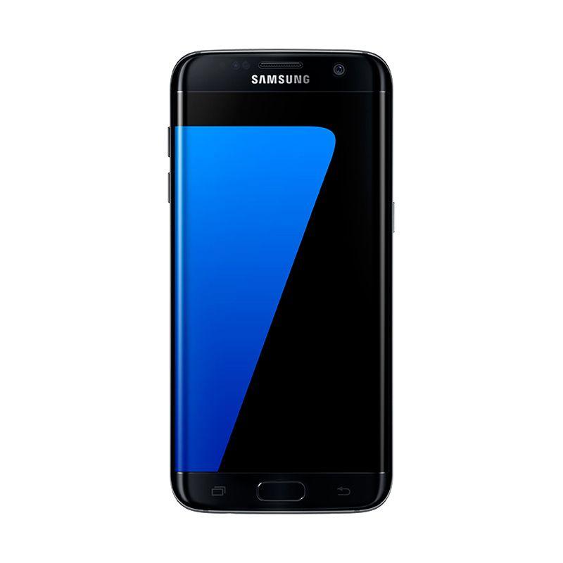 Redeem - Samsung Galaxy S7 Edge SM-G935 Smartphone - Black [32GB/ 4GB] Kompensasi Note 7