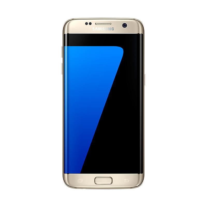 harga Samsung Galaxy S7 Edge SM-G935 Smartphone - Gold Resmi + Gear VR versi 1 Blibli.com