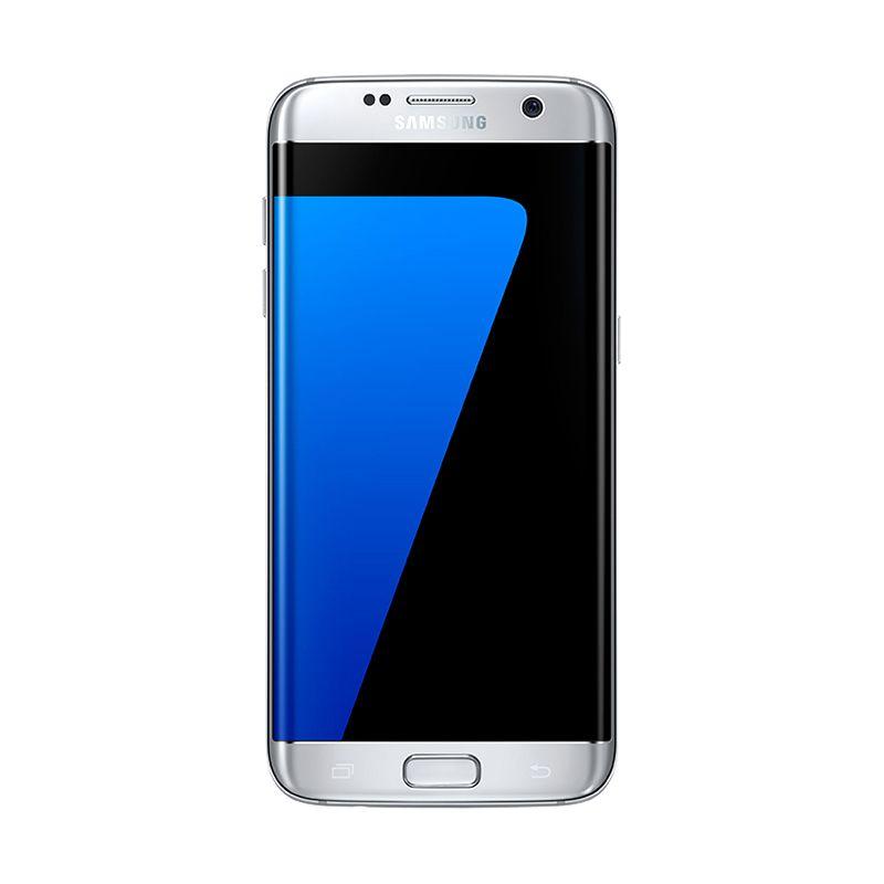 harga Samsung Galaxy S7 Edge SM-G935 Smartphone - Silver Resmi + Samsung Gear VR versi 1 Blibli.com