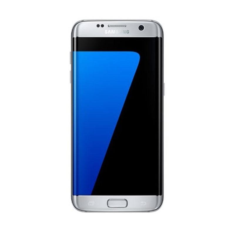 Samsung Galaxy S7 Edge Smartphone - Silver [Garansi Resmi]