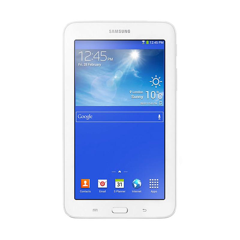 Samsung Galaxy Tab 3V Tablet - White Garansi Resmi