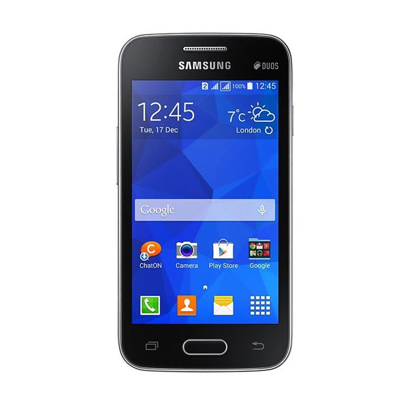 Samsung Galaxy V Plus Smartphone - Hitam