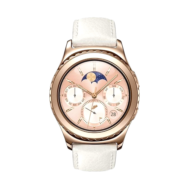 harga Samsung Gear S2 Classic SM-R732 Smartwatch - Rose Gold Blibli.com