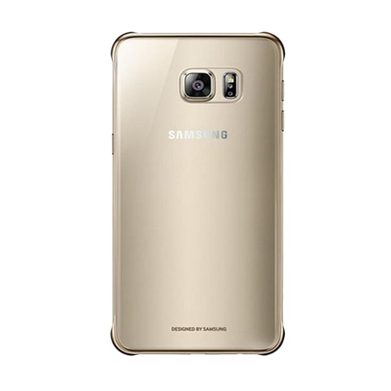Samsung Gold Clear Casing for Samsung Galaxy A8