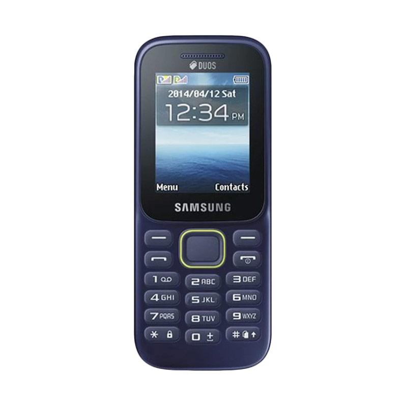 Samsung Guru Music 2 Piton SM-B310E Handphone - Blue [Dual SIM]