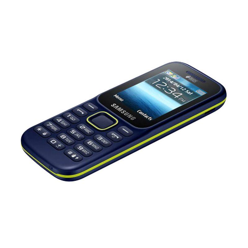 Samsung Guru Music 2 SM-B310E Handphone - Blue [Dual SIM]