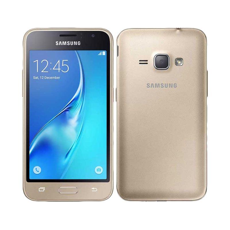 Samsung J1 2016 J120G Smartphone - Gold