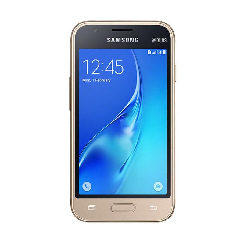 Samsung J1 Mini Duos 2016 J105 Smartphone - Gold