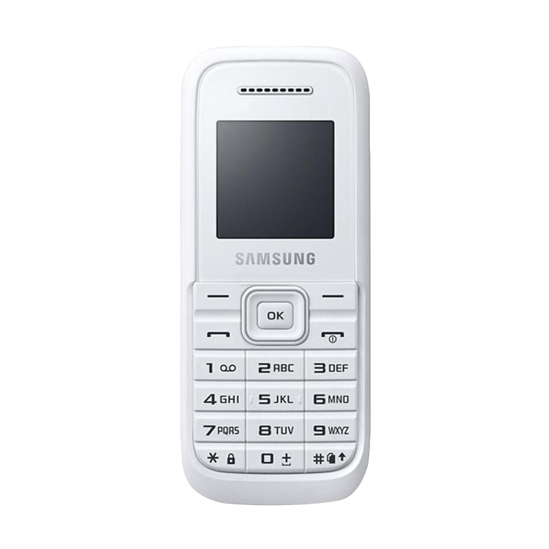 Samsung Keystone 3 B109E Handphone - White