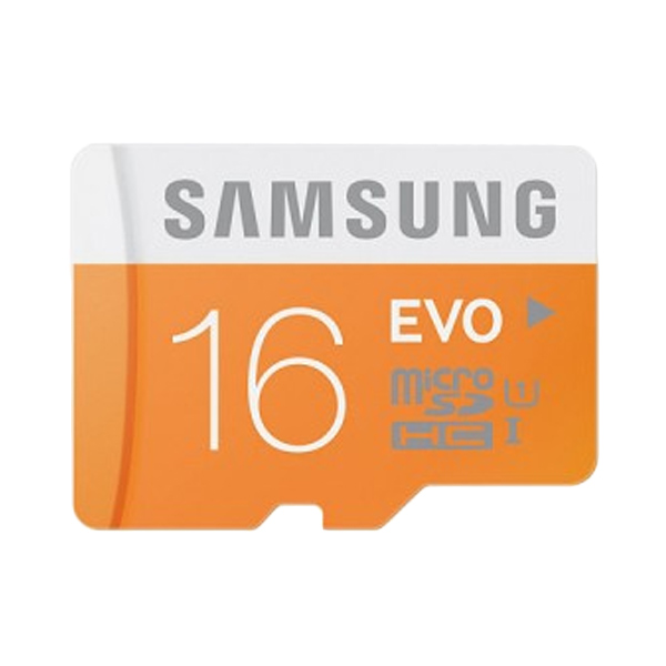 harga Samsung Micro SDHC EVO Memori Card [16 GB/48 Mbps/Class-10] With Adapter Blibli.com