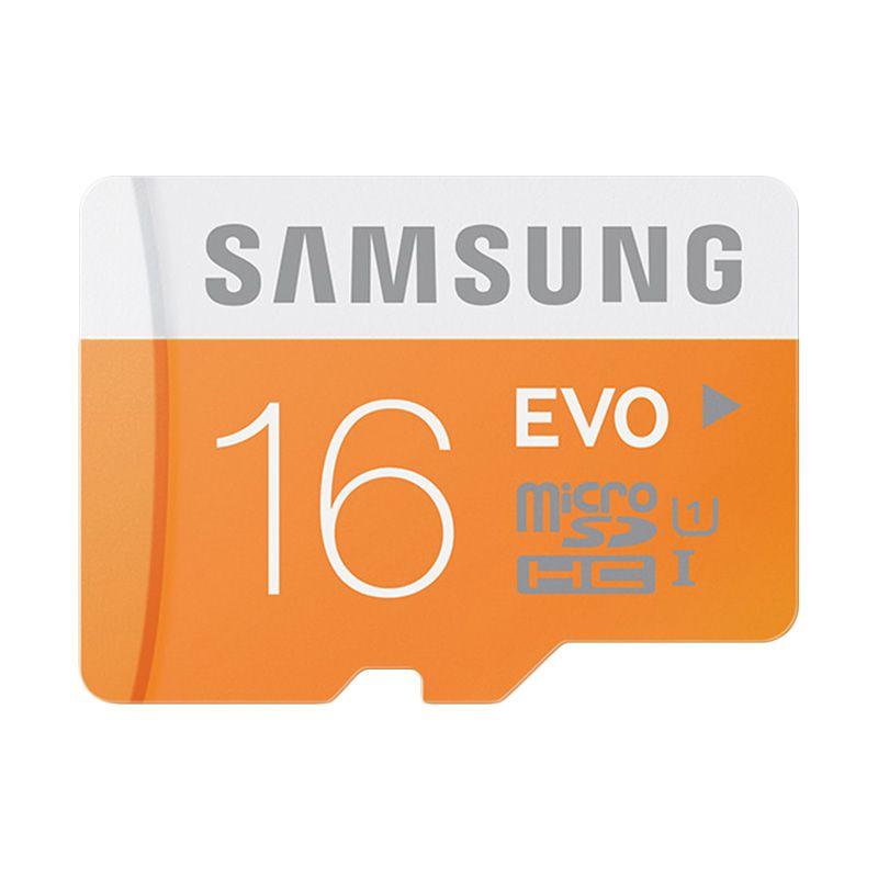 harga Samsung MicroSD Evo Class 10 UHS-I [48MB/s 16GB] Blibli.com