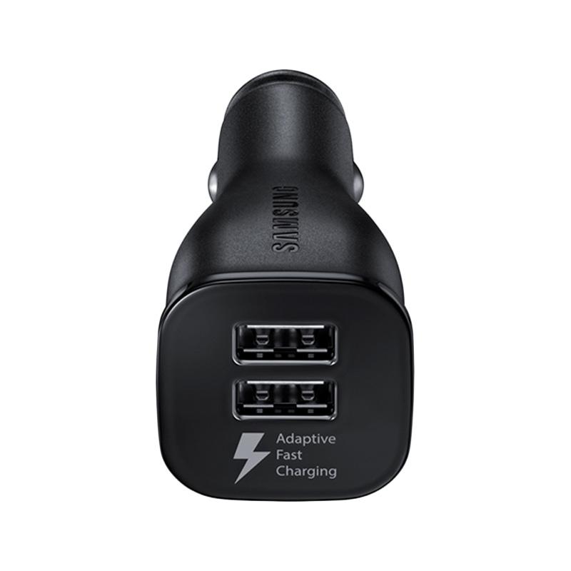 harga Samsung Original Fast Charging Car Charger With Cable Data Micro - Black [2A/Dual USB] Blibli.com