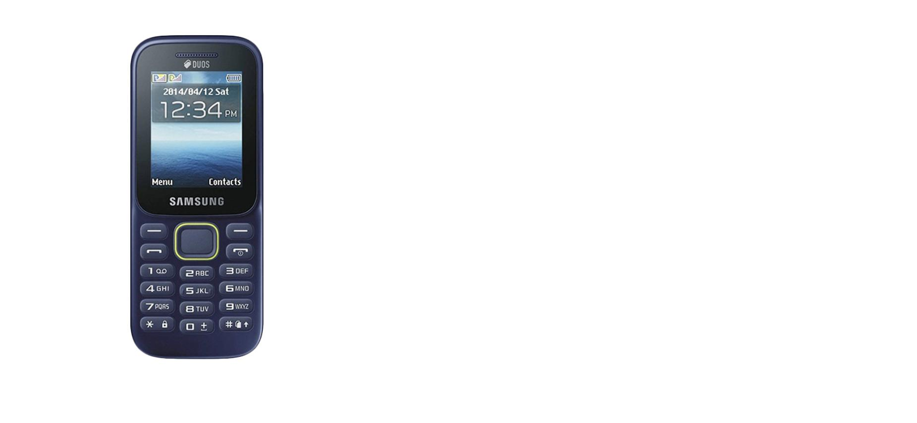 Samsung Piton B310 Handphone - Blue