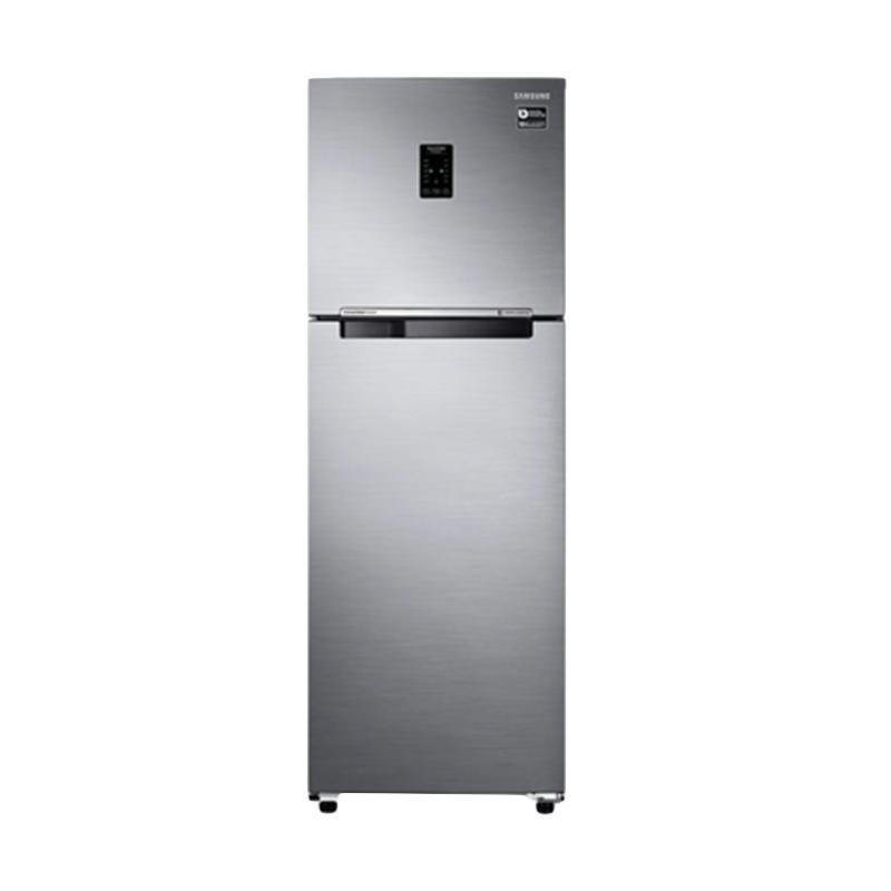 Samsung RT43K6231S8/SE 2 Doors Digital Inverter Refrigerator - Elegant Inox [443 L/Twin Cooling/LED Display/Light DOI Metal]