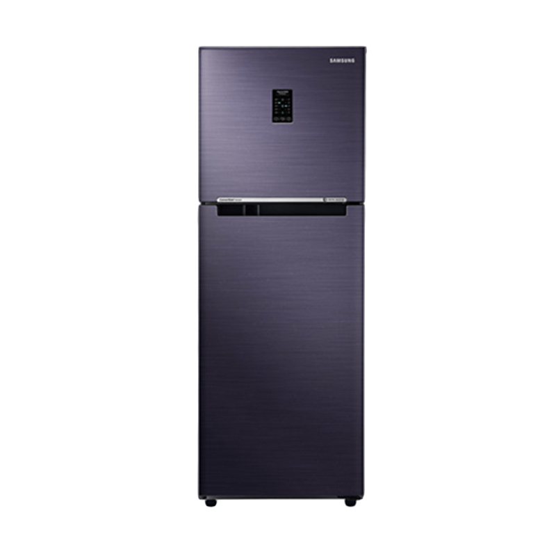 harga Samsung RT43K6231UT/SE 2 Doors Doors Digital Inverter Refrigerator - Pebble Blue [443 L/Twin Cooling/LED Display] Blibli.com