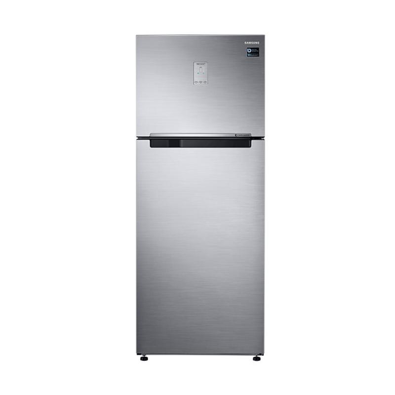 Samsung RT46K6231S8/SE 2 Doors Digital Inverter Refrigerator - Elegant Inox [453 L/Twin Cooling/LED Display/Light DOI Metal]