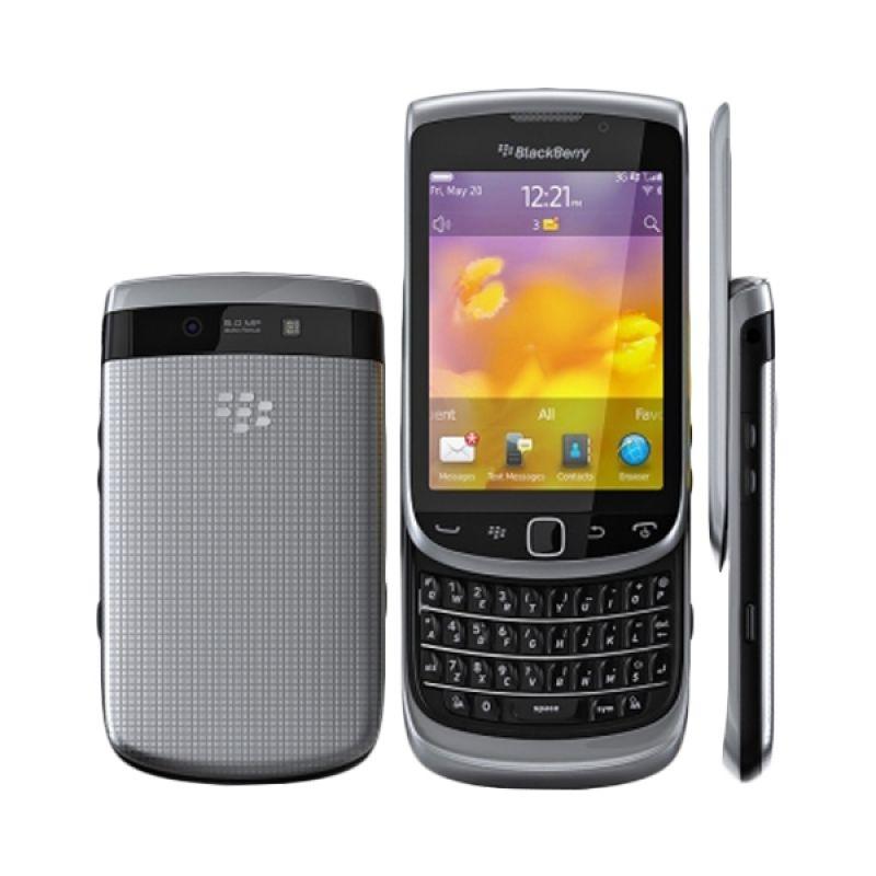 Blackberry Torch2 9810 Silver Smartphone