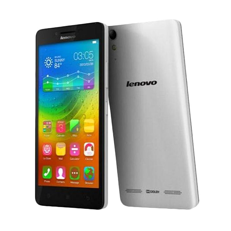 Lenovo A6000 White Smartphone