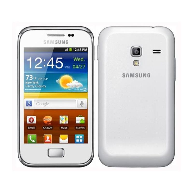 Samsung Ace Plus S7500 White Smartphone