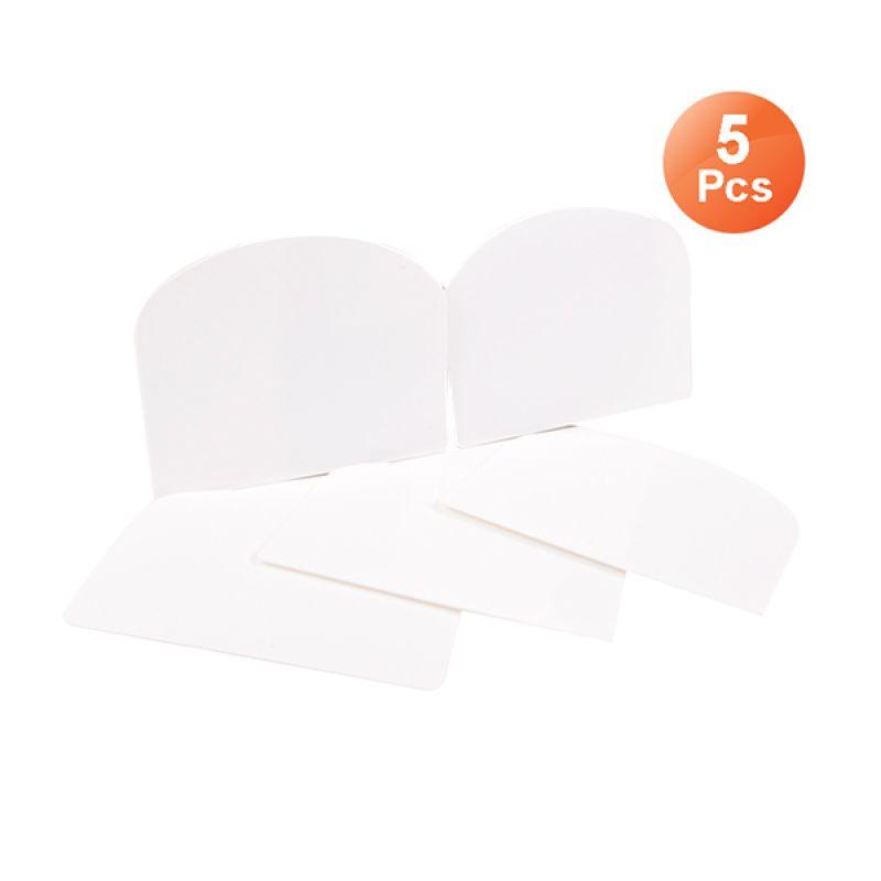 San Neng Dough Scraper & Cutter Set [5 pcs] Putih Scraper/Perata