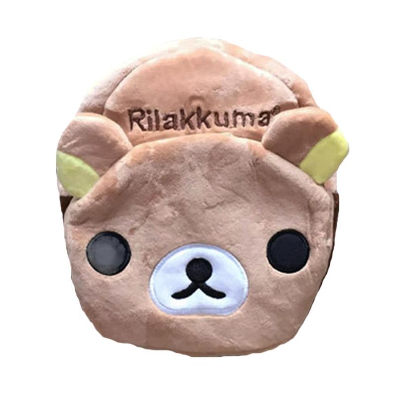 harga San-X Character Rilakkuma Tas Ransel Anak - Coklat Blibli.com