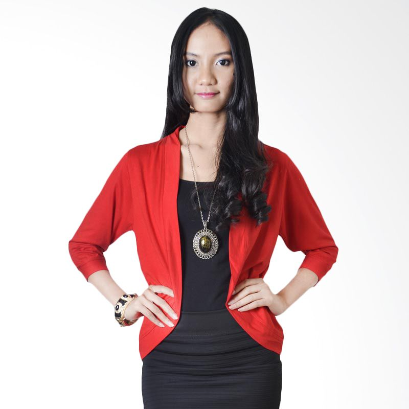Sanban Elena Cardigan Red