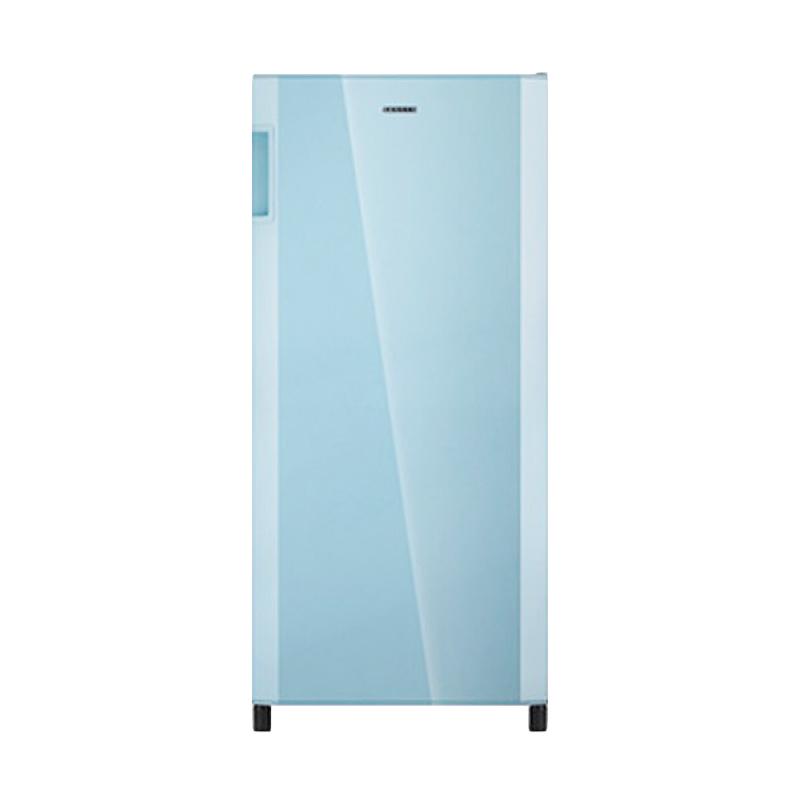 Sanken SK-P180BL Refrigerator - Blue [1 Door/180 L]