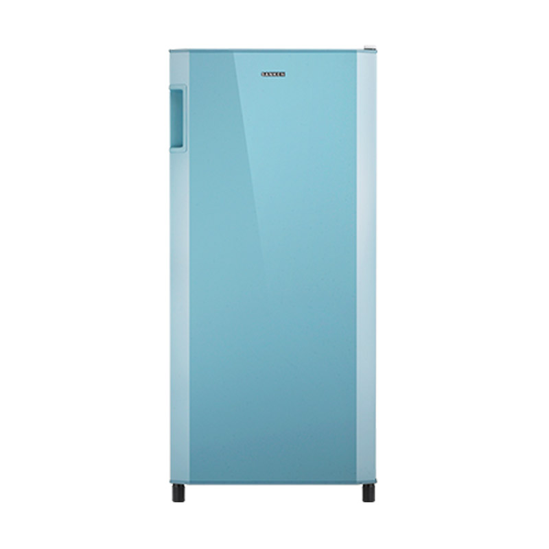 Sanken SK-V191CB Refrigerator - Champagne Blue [1 Door/190 L/VCM Door]