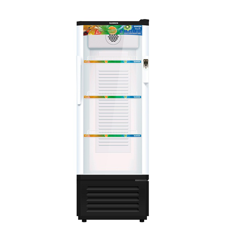 Sanken SRS-188BK-MR Showcase Refrigerator