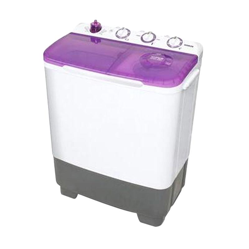 Sanken TW8700VL Mesin Cuci 2 Tabung [7kg] Violet