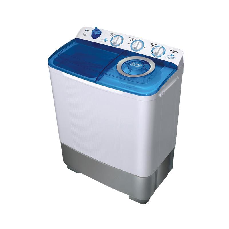 harga Sanken TW882 Mesin Cuci 2 Tabung Transparan [7kg] Biru Blibli.com