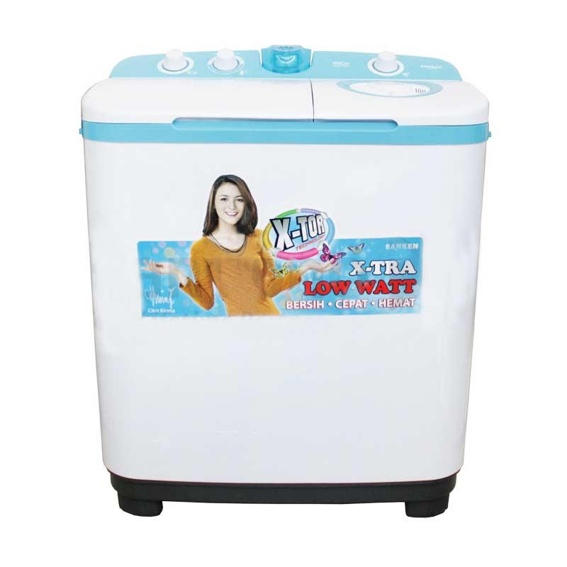 Sanken TW-9770 Mesin Cuci [2 Tabung/9 kg]