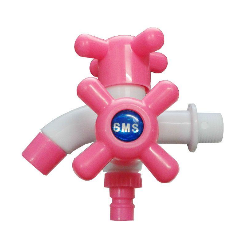 Sanro Cabang PVC SMS Series Pink Kran