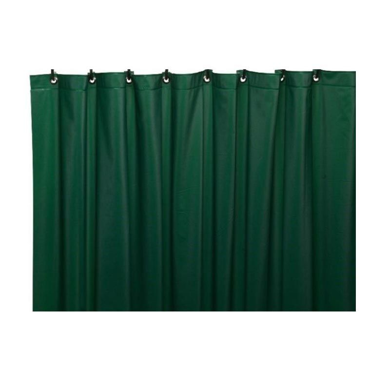 Sanro Dark Green Shower Curtain [1.8 x 1.8 m]
