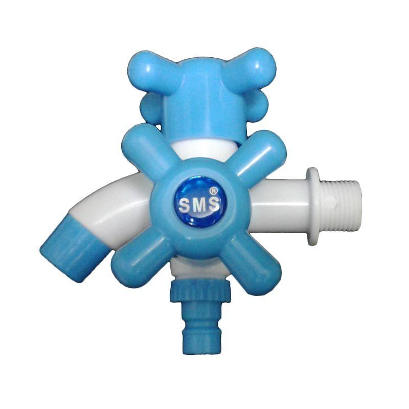 Sanro PVC SMS Series Putih Biru Kran Cabang