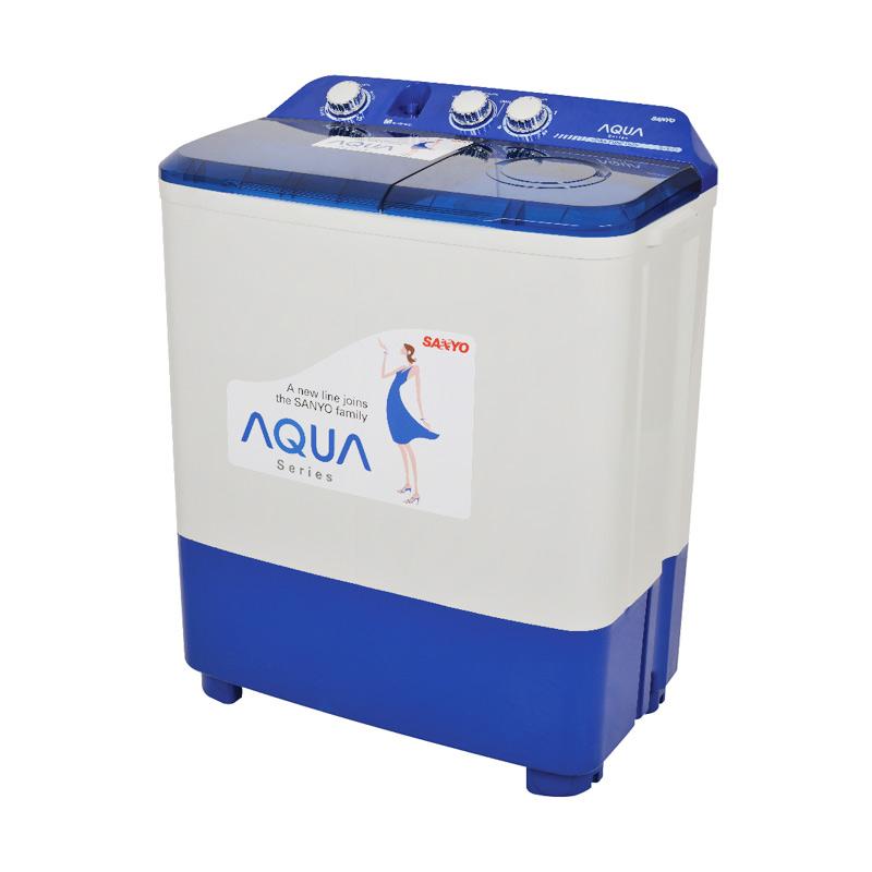 Jual Sanyo Aqua SW 870XT Mesin Cuci Twin Tub Online