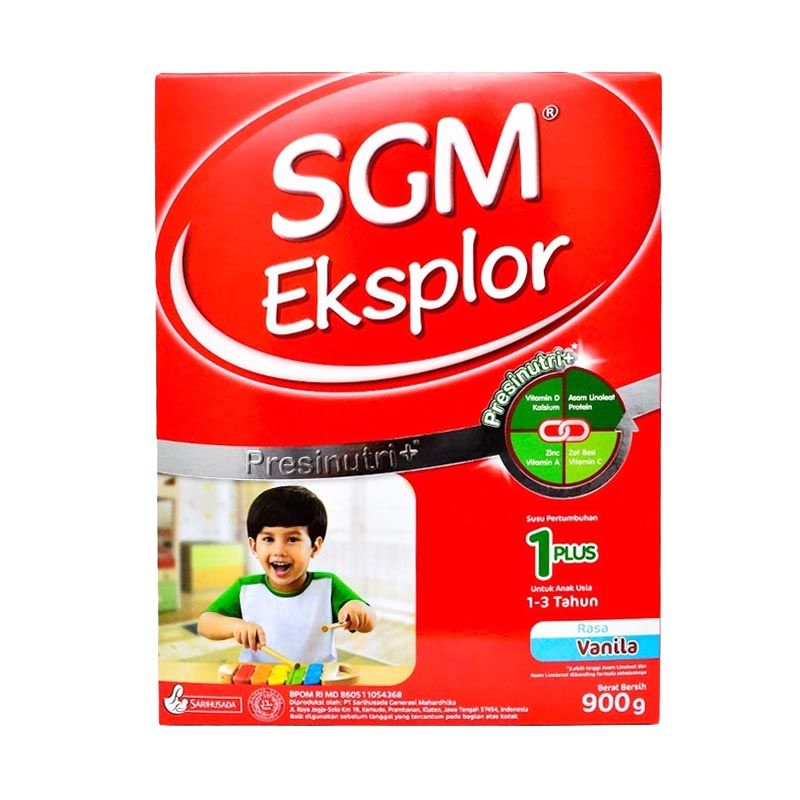 SGM 1+ Vanila Susu Formula [900 gr]