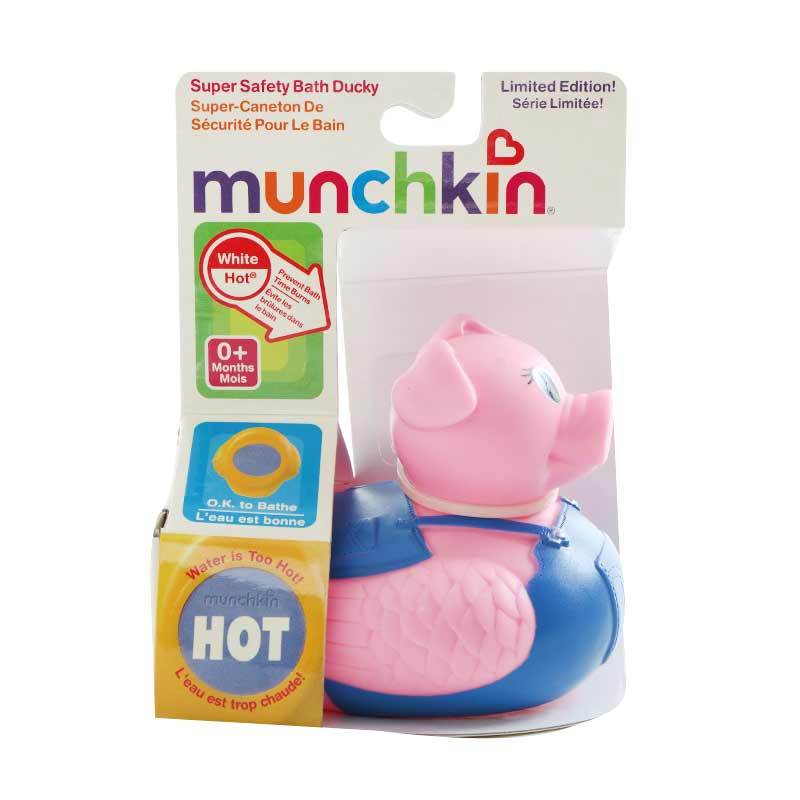 Munchkin White Hot Bath Ducky 10065 Pig Mainan Anak