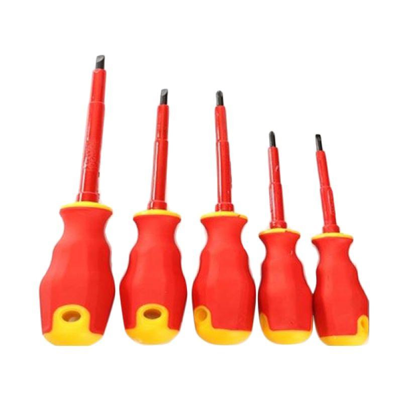 SATA Tools VDE Insulated Screwdriver 09303 Set Obeng [7 Pcs]