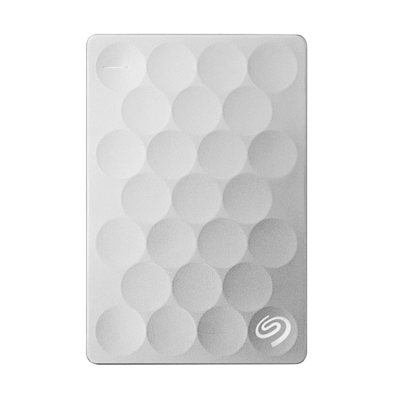 Seagate Back Up Plus Ultra Slim Hard Disk Eksternal - Silver [1 TB]