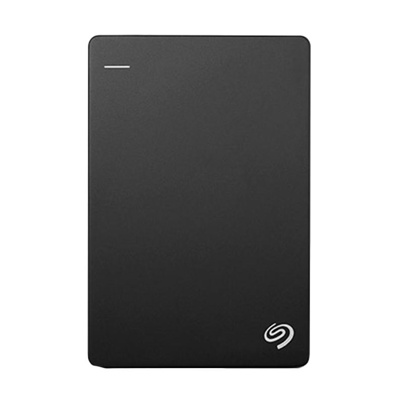 Seagate Backup Plus Slim Portable Hard Disk Eksternal - Hitam [1 TB/USB 3.0]